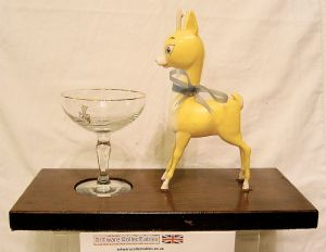 Babycham Desk Top Promotional Tableau